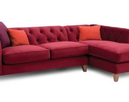 Red Color Sofa